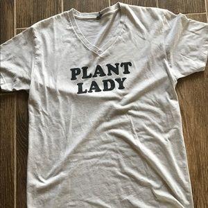 Magnolia Market Plant Lady VNeck Tee